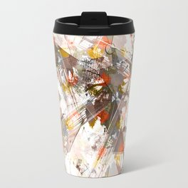 Abstraction. The strokes of paint. 1 Travel Mug