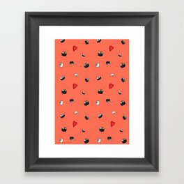Sushi Saturday Framed Art Print