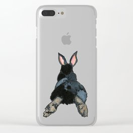 Ben Solo the Rabbit Clear iPhone Case