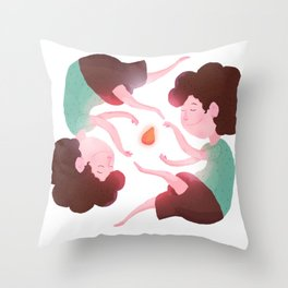 Domadores de Coxinha! Throw Pillow
