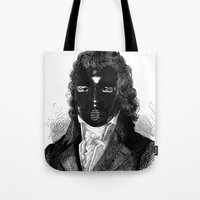 bdsm Tote Bags featuring BDSM XVIII by DIVIDUS