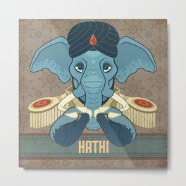 Hathi Metal Print