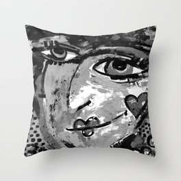 She Can Wish 1a by Kathy Morton Stanion Throw Pillow