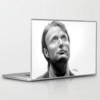 hannibal Laptop & iPad Skins featuring Hannibal  by Mutemouia