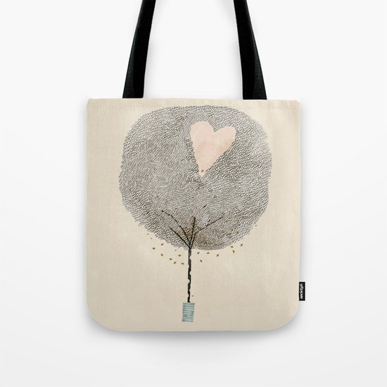how love grows Tote Bag