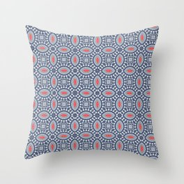 Pool Parlor Pattern Throw Pillow
