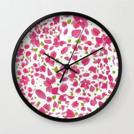Begonvil  Wall Clock