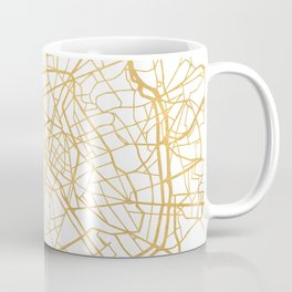 PARIS FRANCE CITY STREET MAP ART Coffee Mug