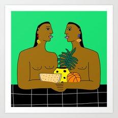 Parallel Movements  Art Print