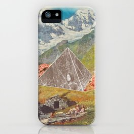 Between the mountains iPhone Case