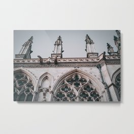Amiens Cathedral France Metal Print