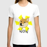 doge T-shirts featuring Doge by Subtle Tee