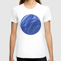 dune T-shirts featuring Blue Dune by Lyle Hatch