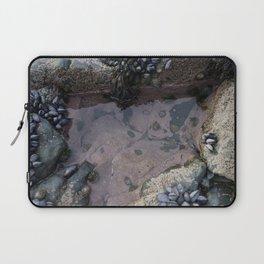 Pink Ocean Rock Pool with Mussels Laptop Sleeve
