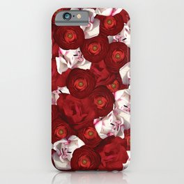 Belle Fleur: Tulip Ranunculus iPhone Case