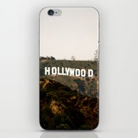hollywood iPhone & iPod Skins featuring Hollywood by Claire Jantzen