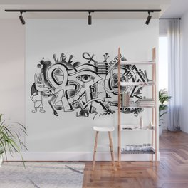 Graffiti Egypt Wall Mural