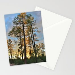 Pines All A Glow Stationery Cards