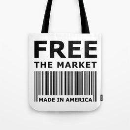 Free The Market Tote Bag
