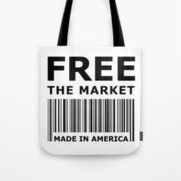 Free The Market Tote Bag