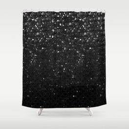 Crystal Bling Strass G283 Shower Curtain