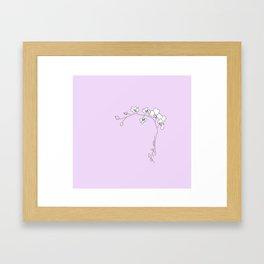 COL OR CHID Framed Art Print
