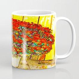 Red Mums Coffee Mug