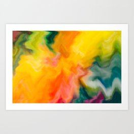 Channels Art Print