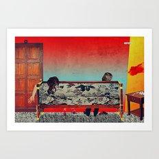 28 Feet Under Art Print