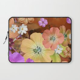 The fairy will come out soon #flower #combination Laptop Sleeve