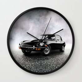 The 68 E-Type Wall Clock