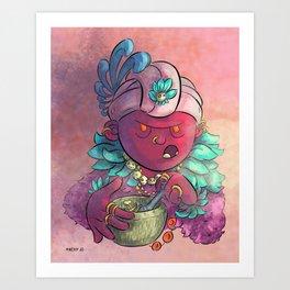 Voodoo Queen Art Print