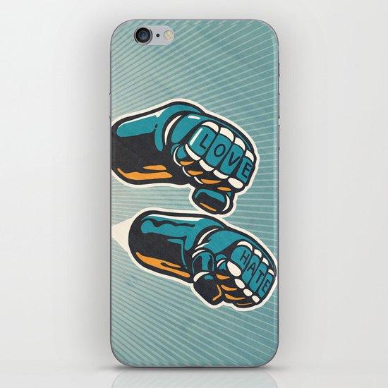 Love/Hate iPhone Skin