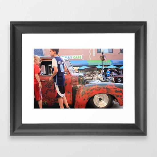 Kids in America Framed Art Print