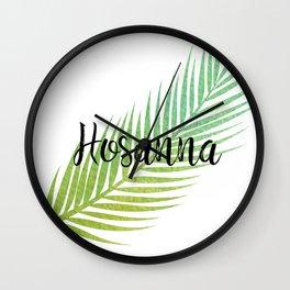 Hosanna Wall Clock