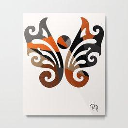 Metal Butterfly Metal Print