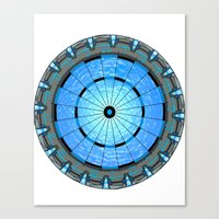 stargate Canvas Prints featuring Stargate Board by spacemonkey89