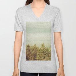 Forest Lookout Unisex V-Neck