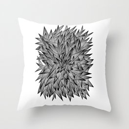 Triangle Jumble Throw Pillow