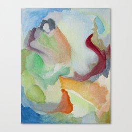 Summer Clouds Canvas Print