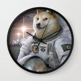 Very Astronaut Wall Clock