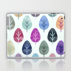Watercolor Forest Pattern  Laptop & iPad Skin