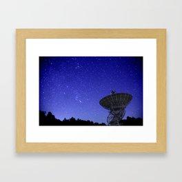 Watching the Sky Framed Art Print