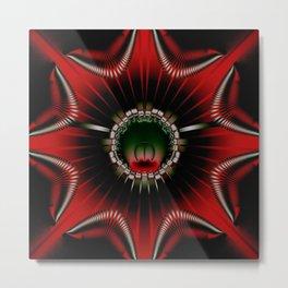 abstract artwork star Metal Print