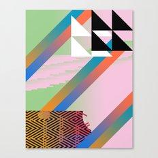 Clrfl Spill Canvas Print