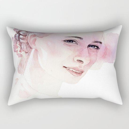 Underneath the cloak Rectangular Pillow