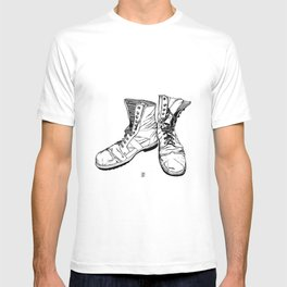 These Boots Are Made For Walking T-shirt
