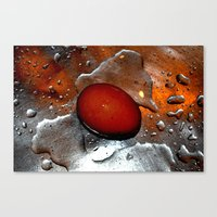 egg Canvas Prints featuring egg by  Agostino Lo Coco