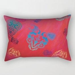 Diablada Print Rectangular Pillow