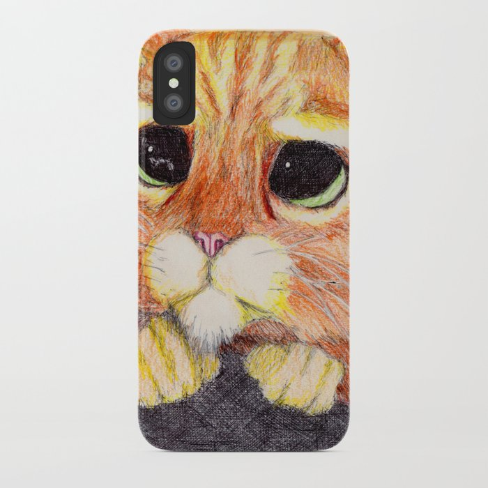 Puss In Boots. iPhone Case
